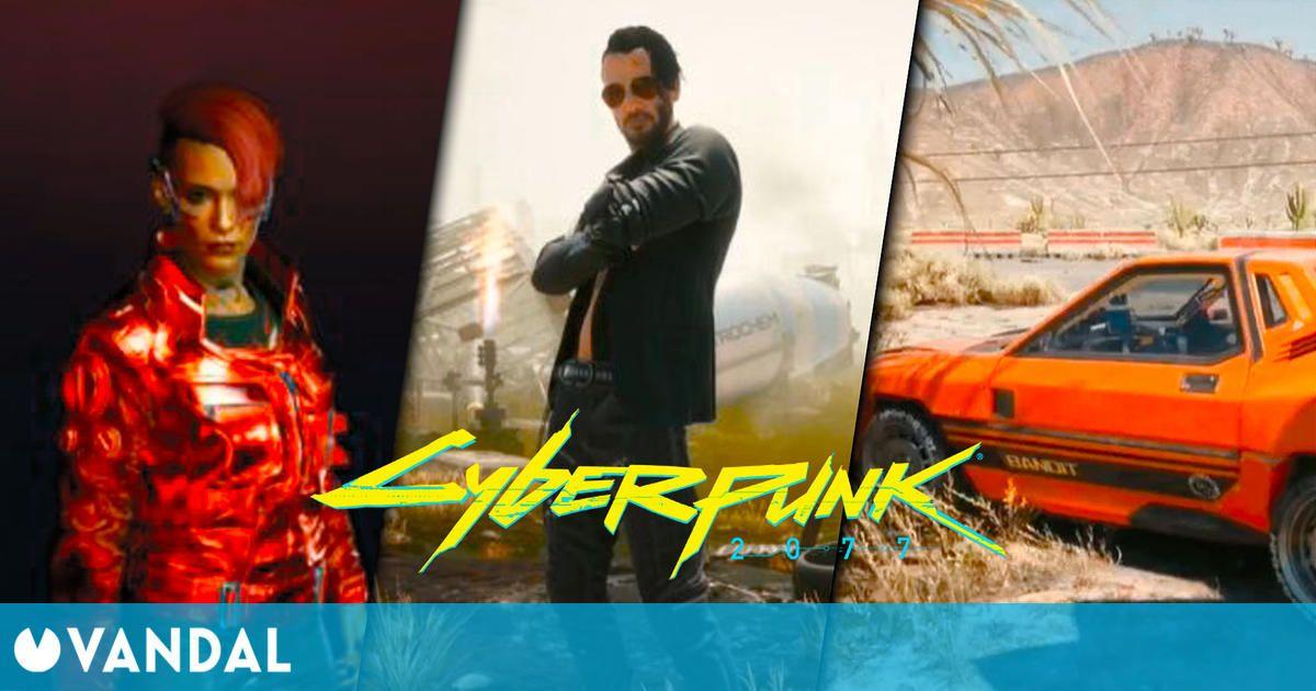 Cyberpunk 2077 desvela sus primeros DLC: un coche, ropa y una skin para Johnny Silverhand