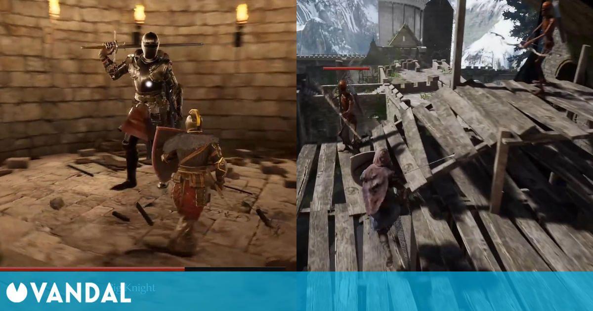 Recrean Undead Burg de Dark Souls con Unreal Engine 4 en un mod espectacular