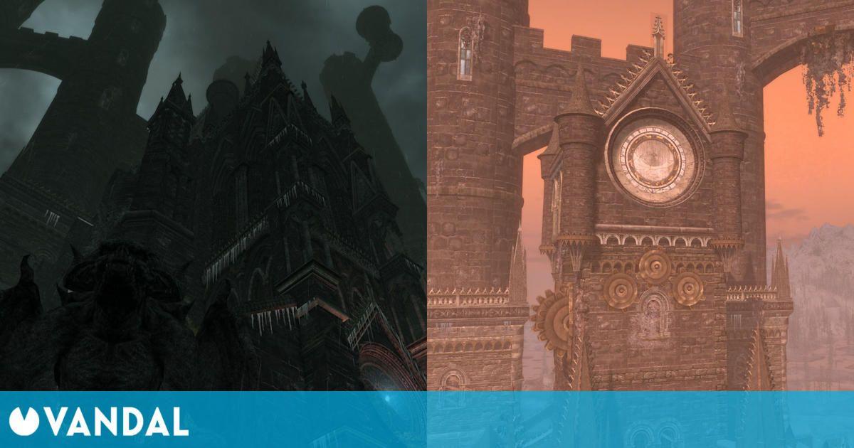 Recrean el Castillo de Drácula inspirado en Castlevania con un impresionante mod de Skyrim