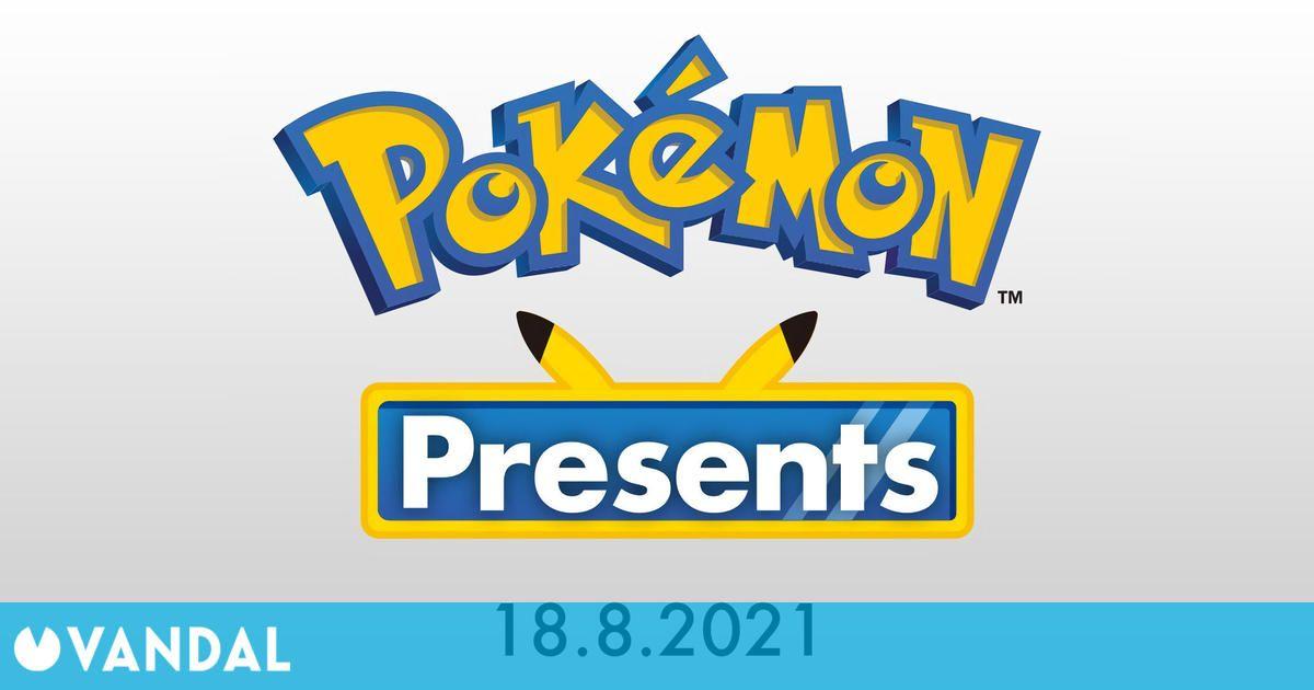 Sigue aquí el Pokémon Presents con subtítulos en español a partir de las 15:00
