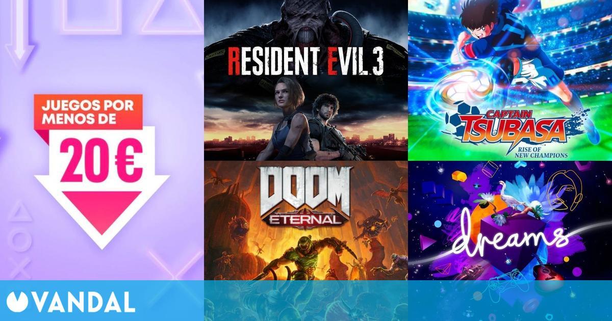 Ofertas PS Store juegos de PS4 por menos de 20 euros: Doom Eternal, Resident Evil 3…