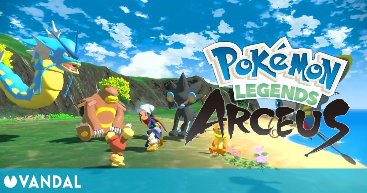 Leyendas Pokémon Arceus muestra su jugabilidad, imágenes y nuevos detalles