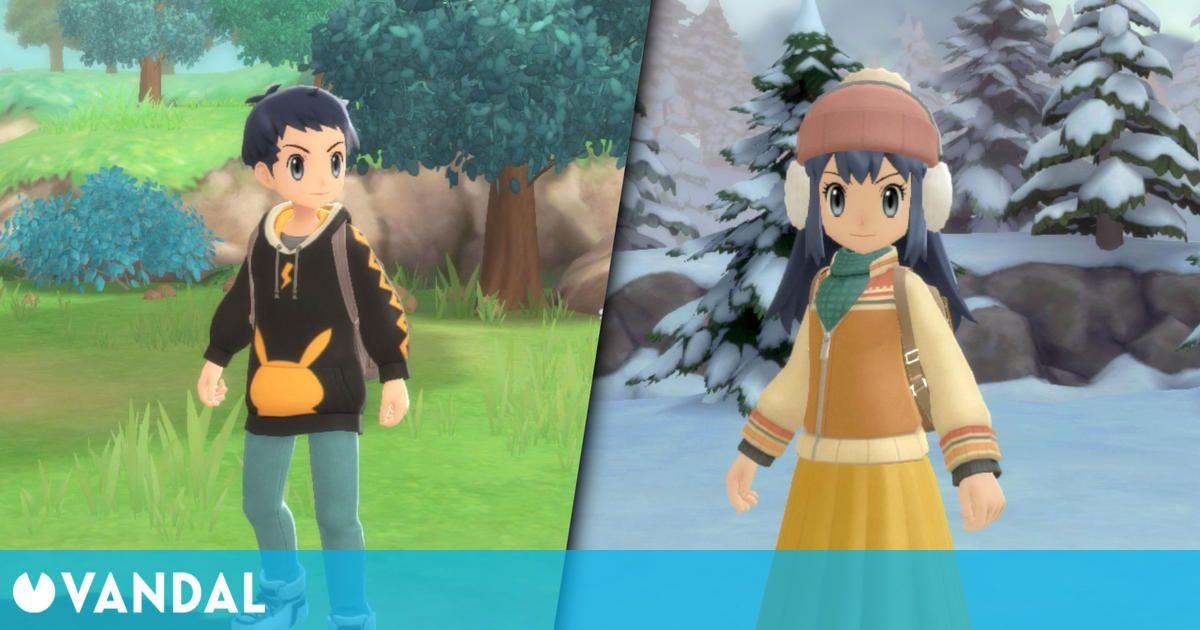 Pokémon Diamante Brillante / Perla Reluciente desvela nuevos detalles y gameplay