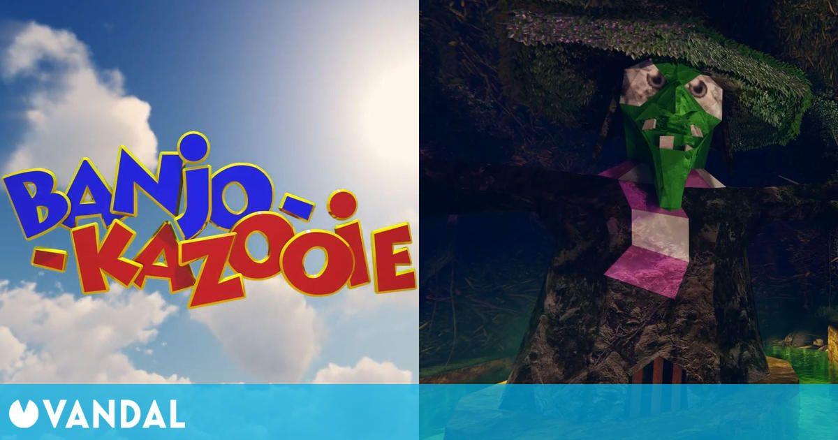 Banjo-Kazooie recibe un tráiler remasterizado de su primera entrega de Nintendo 64