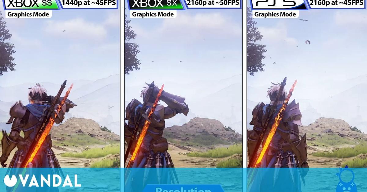 Tales of Arise recibe una comparativa gráfica entre las versiones de PlayStation y Xbox