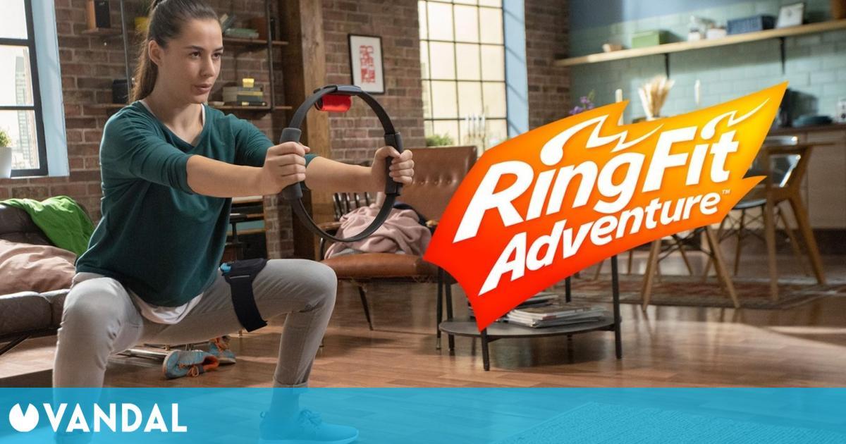 Ring Fit Adventure fue el juego más vendido en España en la primera semana de agosto