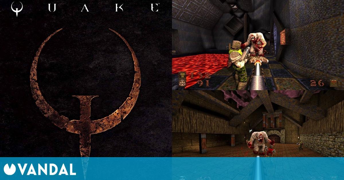 El mítico Quake ya está disponible remasterizado en PS4, Xbox One, PC y Switch