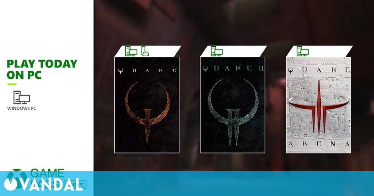 Quake 2 y Quake 3 llegan a Xbox Game Pass para PC por el 25 aniversario de la saga