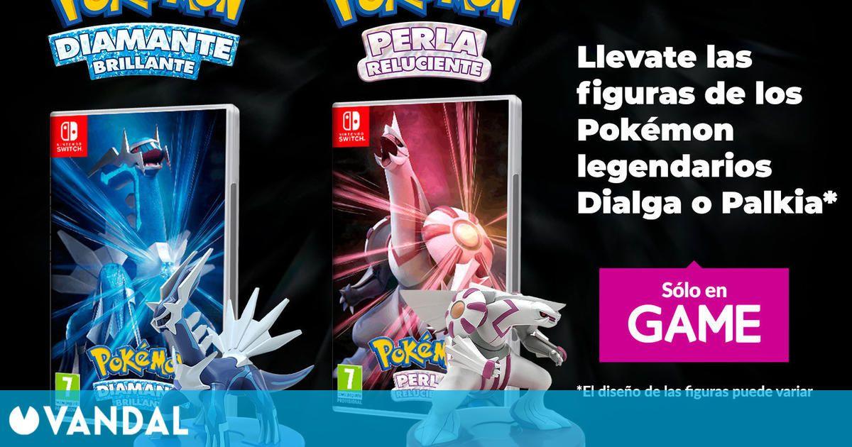 Reserva Pokémon Diamante Brillante o Perla Reluciente en GAME y consigue una figura