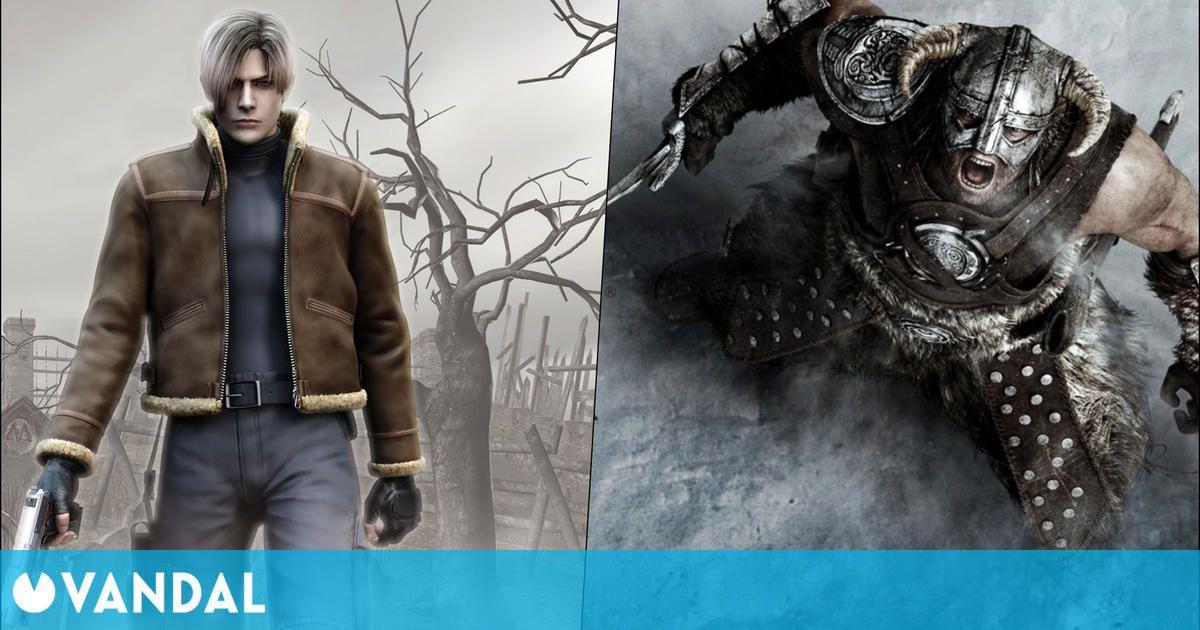 The Elder Scrolls V Skyrim vs Resident Evil 4: ¿Cuál tiene más 'ports'?