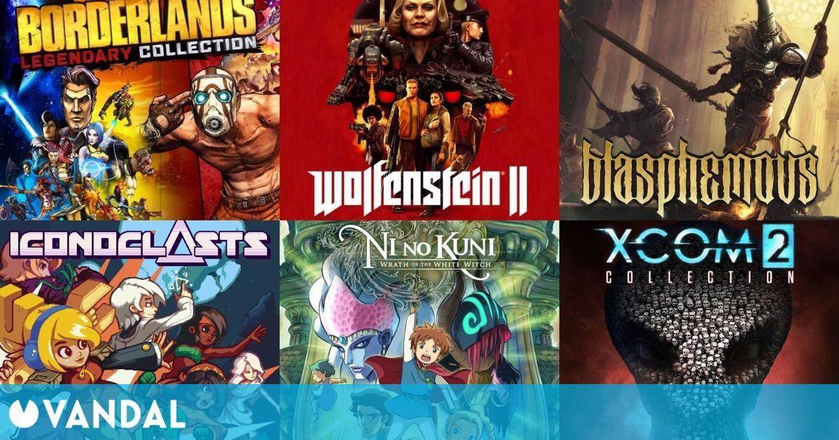 Ofertas Switch: Blasphemous, Wolfenstein 2, OlliOlli, Ni no Kuni, Borderlands, Narita Boy…