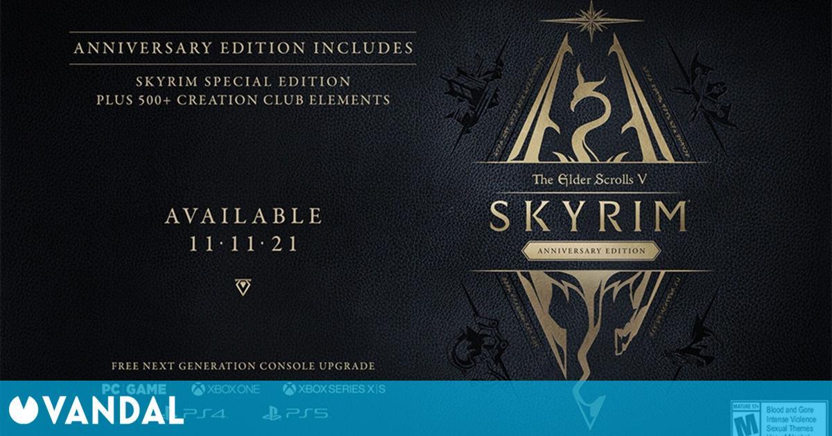 Anunciada The Elder Scrolls V: Skyrim Anniversary Edition con contenido creado por los fans