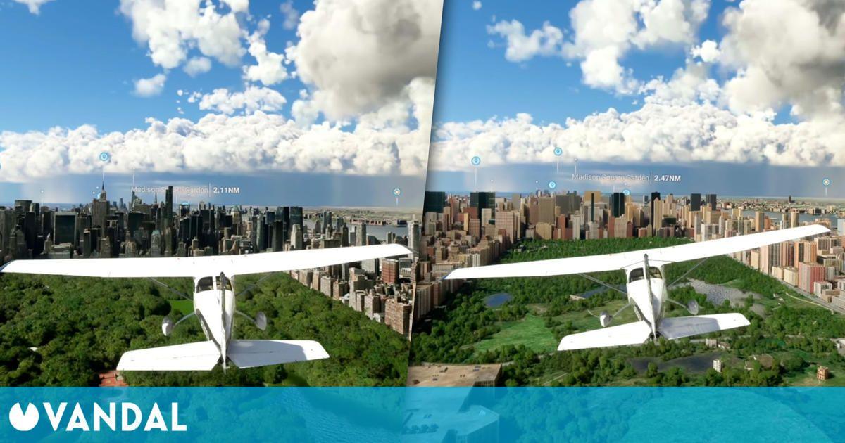 Así mejora Microsoft Flight Simulator cuando se juega online gracias a la nube