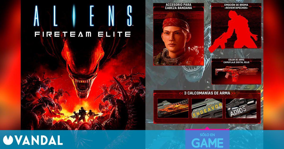 Reserva Aliens: Fireteam Elite en GAME y consigue el DLC exclusivo 'Marines veteranos'
