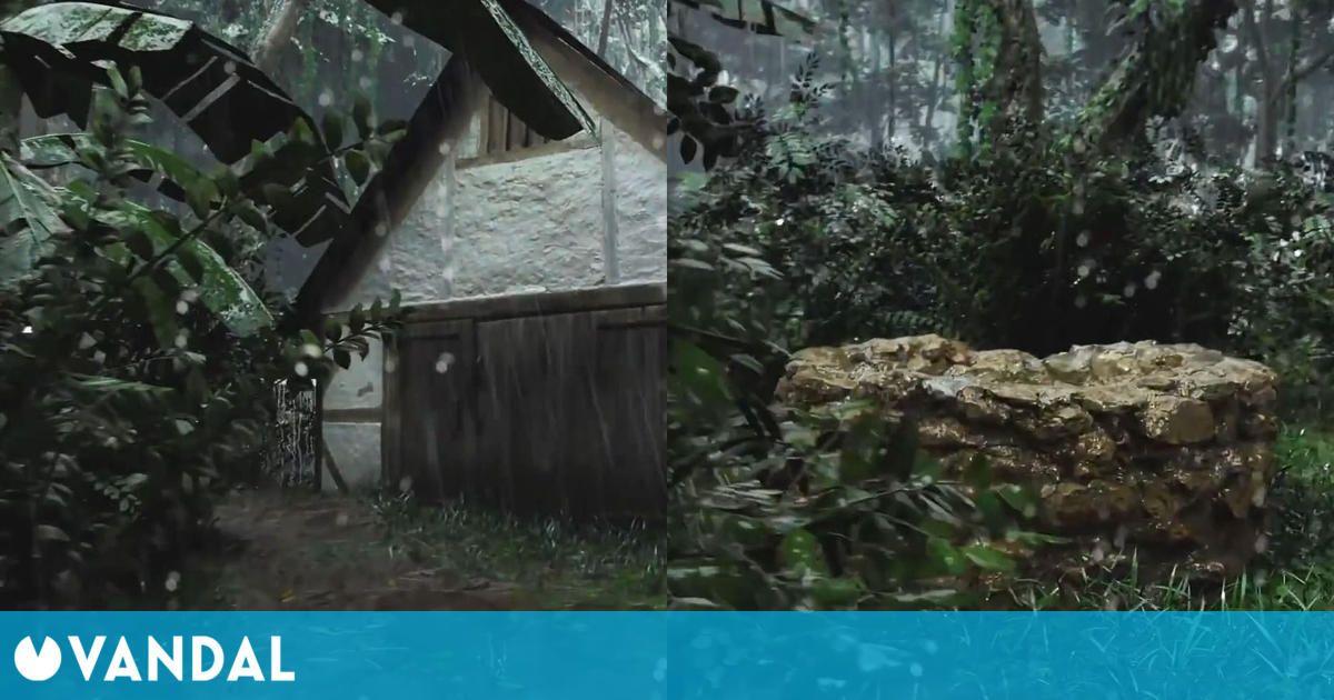 Recrean un impresionante bosque con Unreal Engine 5 inspirado en Far Cry y Crysis