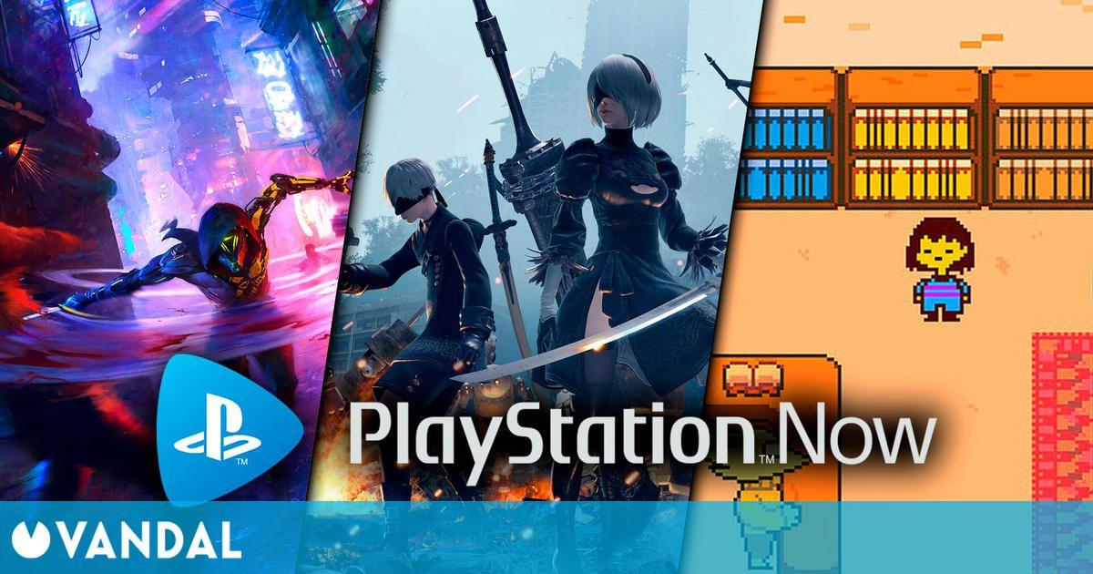 NieR: Automata, Ghostrunner y Undertale son los juegos de PS Now de agosto