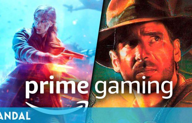 Battlefield 5, Indiana Jones, Planet Alpha y otros cinco juegos gratis en Prime Gaming