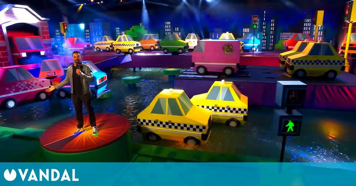 El mítico arcade Frogger se convierte en un concurso de obstáculos para televisión