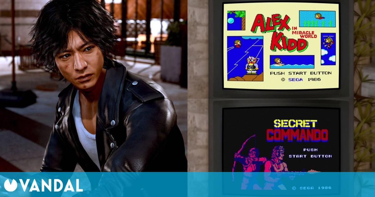 Lost Judgment: Desvelados los ocho juegos que podremos jugar en su Master System