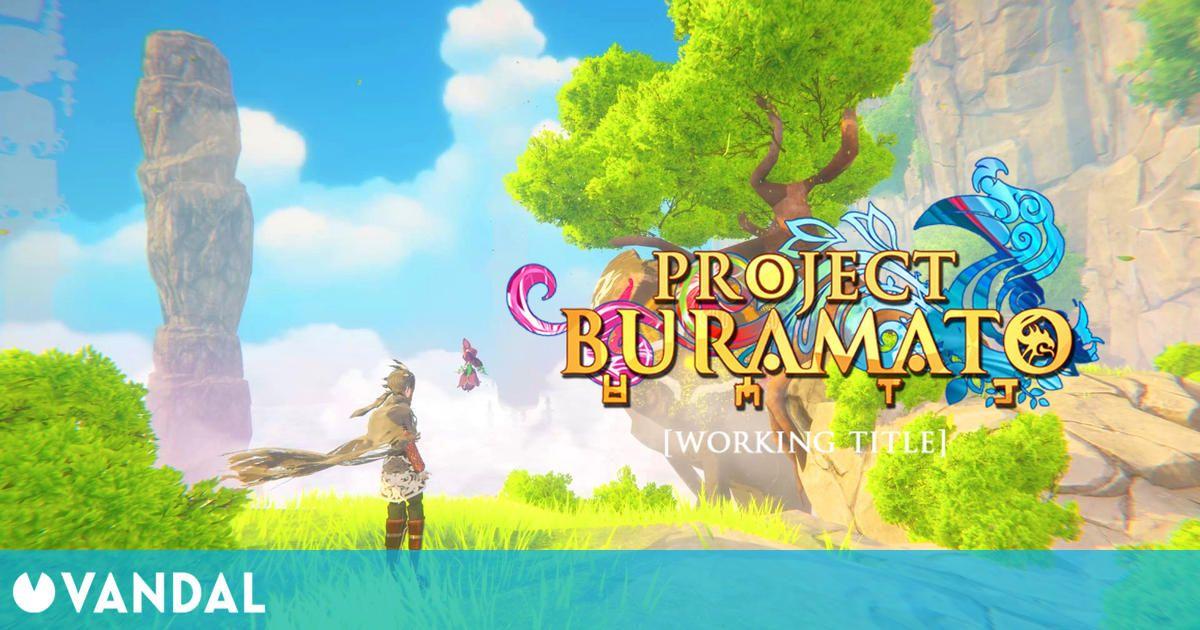 Así es Project Buramato, un espectacular juego de aventuras 3D inspirado en Zelda: BOTW