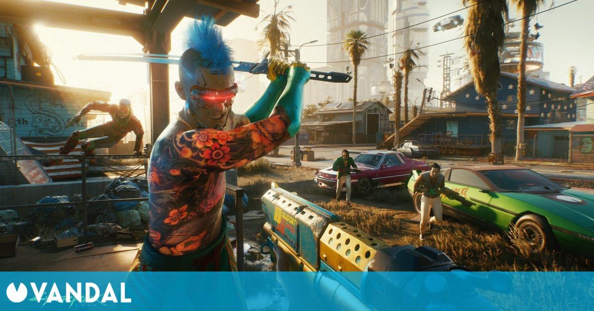 El último parche de Cyberpunk 2077 referencia dos expansiones y multijugador