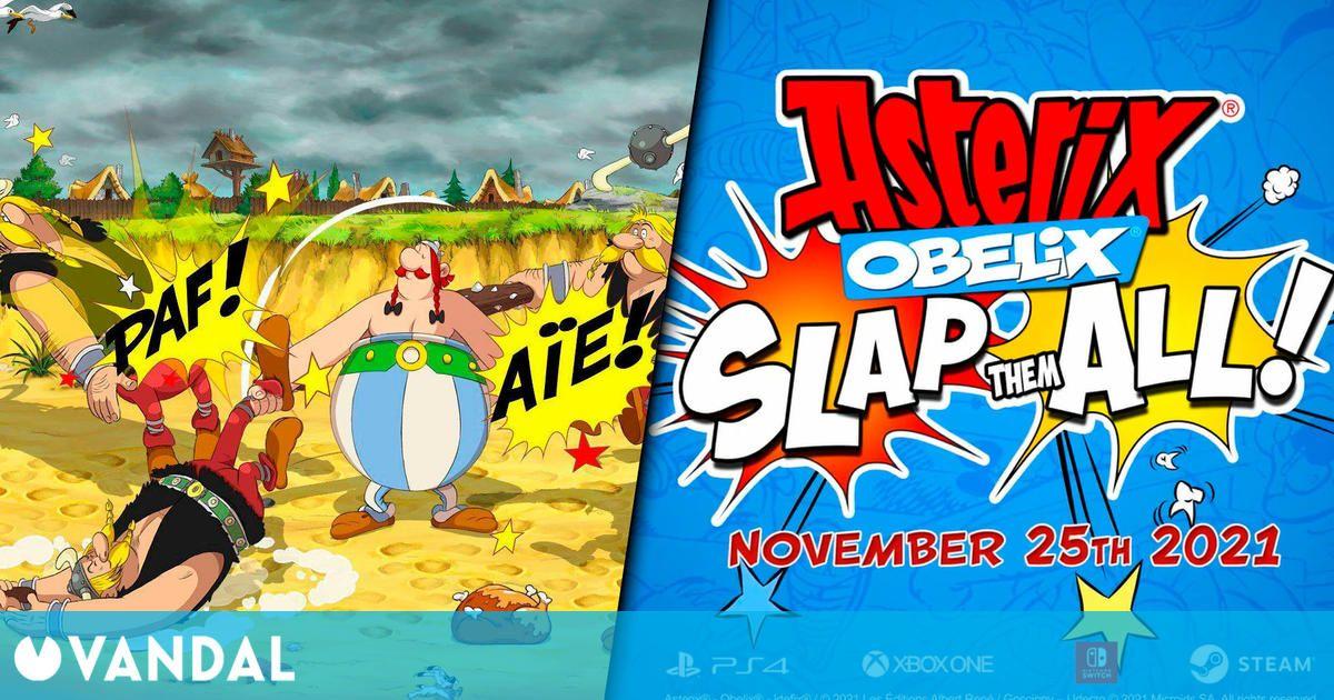El beat'em up Asterix and Obelix: Slap them All llega el 25 de noviembre a PC y consolas