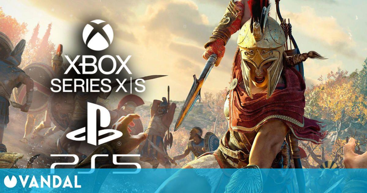 Assassin's Creed Odyssey se actualiza gratis para funcionar a 60 fps en PS5 y Xbox Series X/S