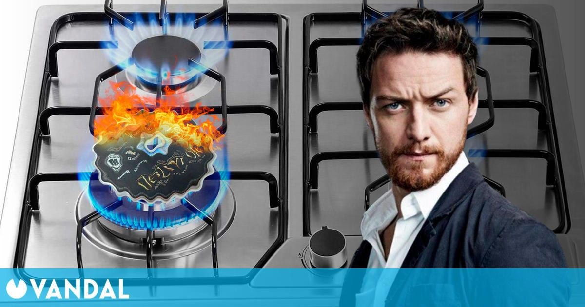 El actor James McAvoy quemó el disco de Oblivion para terminar con su adicción