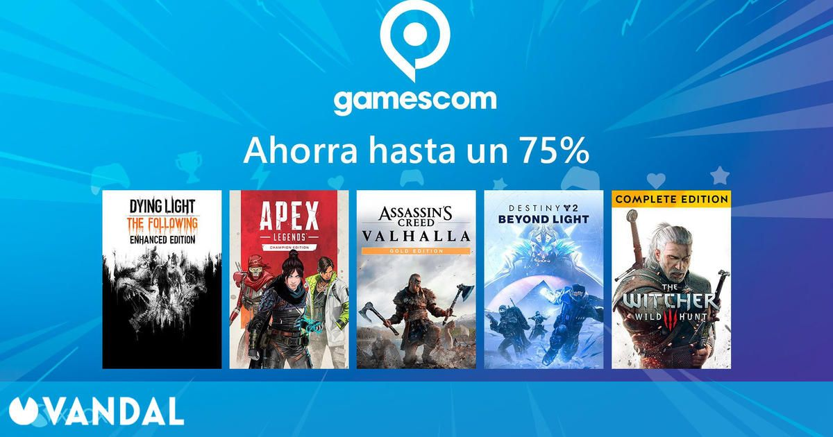 Ofertas Xbox: Cientos de juegos rebajados con motivo de la gamescom 2021
