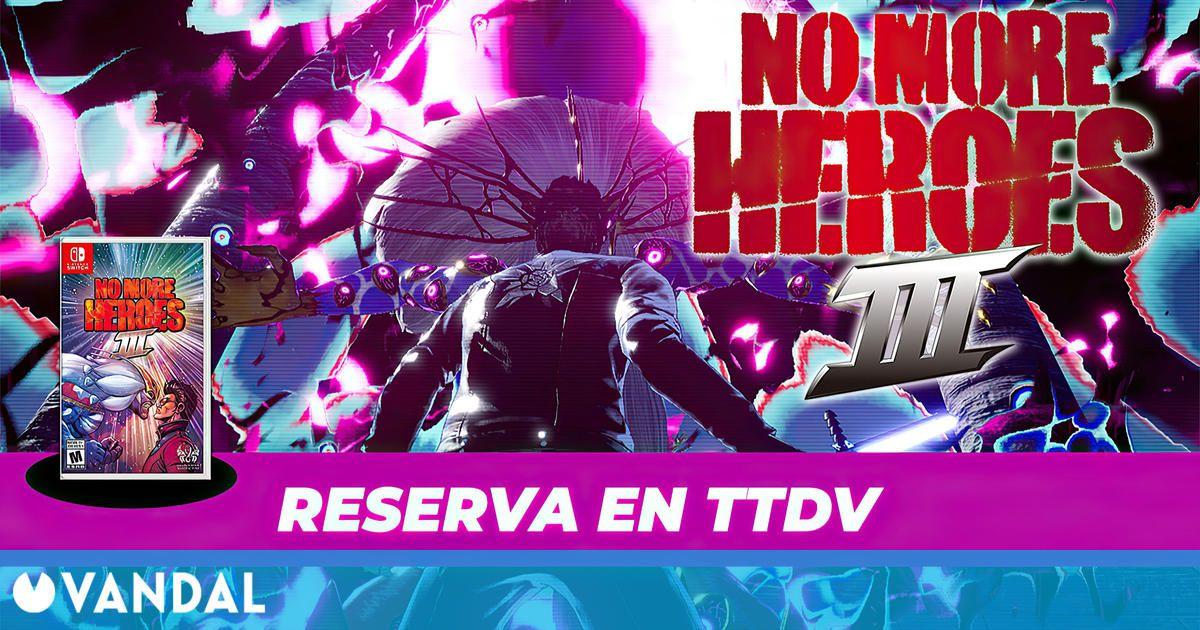 Ya puedes reservar No More Heroes 3 para Nintendo Switch en TTDV