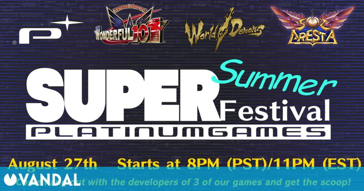 PlatinumGames celebrará su propio evento veraniego el sábado 28 de agosto