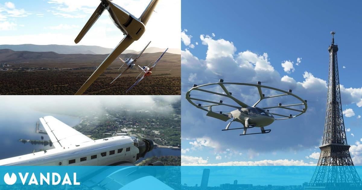 Microsoft Flight Simulator presenta su próximo contenido en Gamescom 2021