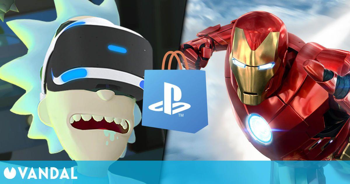 Ofertas en juegos de PS VR en PS Store hasta el 8 de septiembre: Astro Bot, Iron Man y más