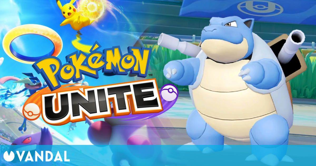 Blastoise llegará por fin a Pokémon Unite el 1 de septiembre