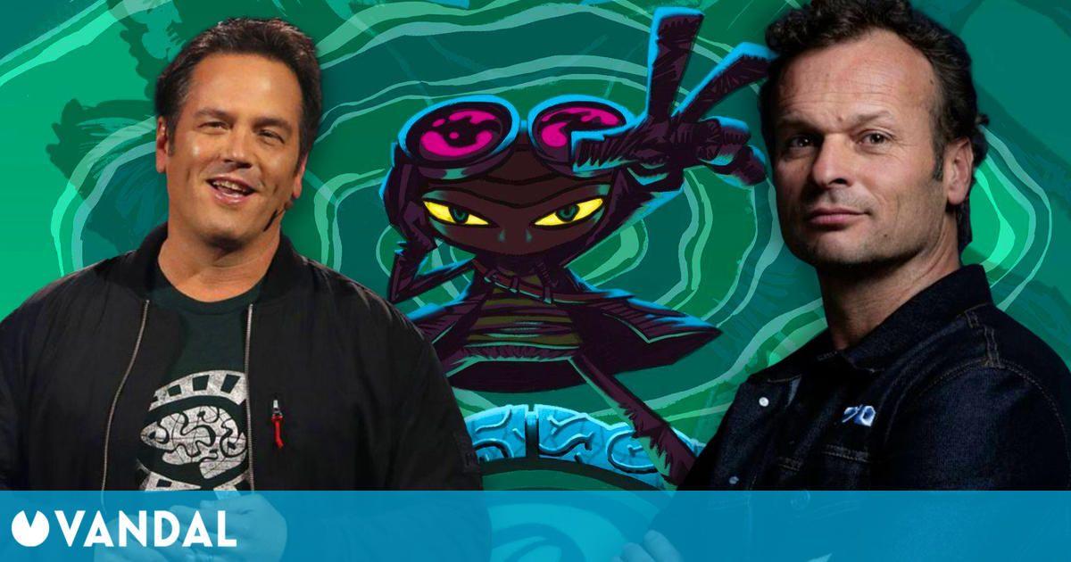 El jefe de PlayStation Studios felicita a Phil Spencer por Psychonauts 2