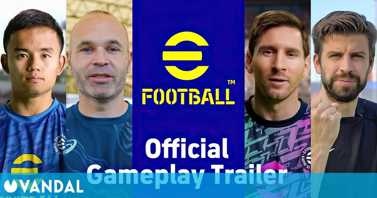 eFootball revela su gameplay en profundidad y algunas de sus novedades