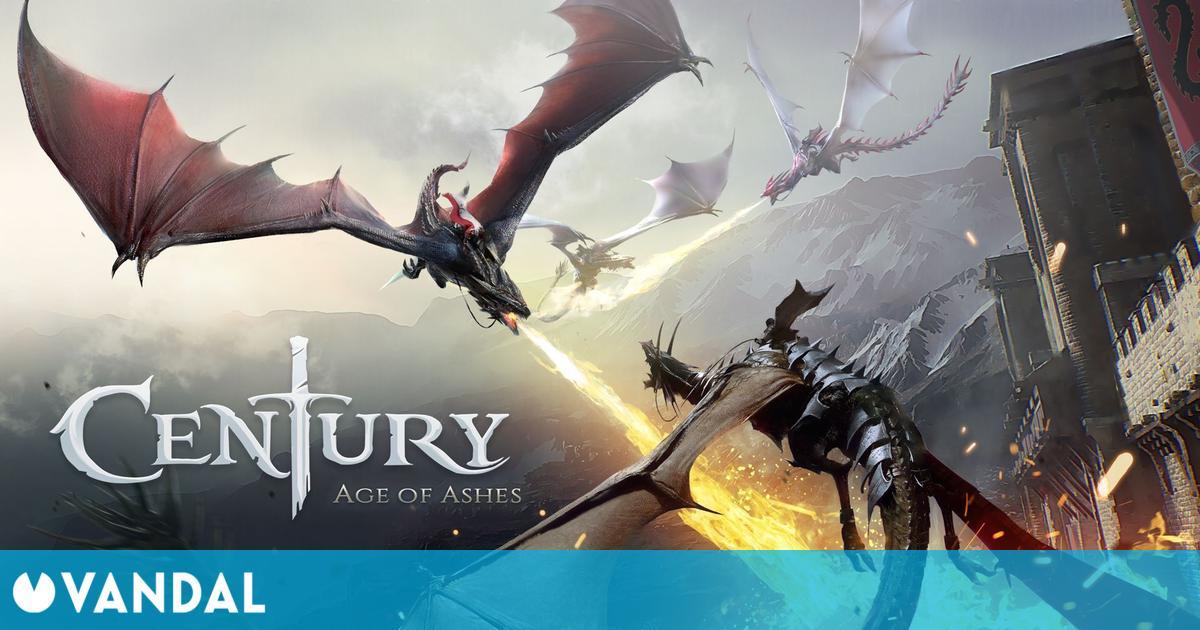 Century: Age of Ashes, el multijugador gratuito de dragones, se lanzará el 18 de noviembre