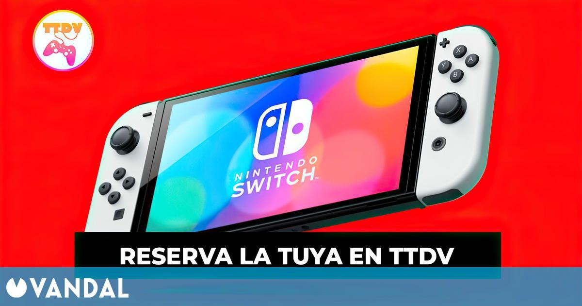 Consigue tu pack ideal de Nintendo Switch OLED con juegos o accesorios en TTDV (26/08/2021)