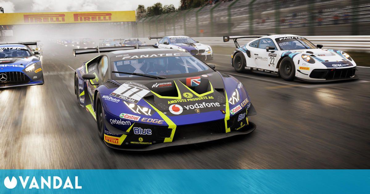 Assetto Corsa Competizione llevará su velocidad a PS5 y Xbox Series X/S el 24 de febrero