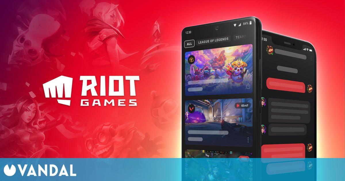 Riot Games presenta Riot Mobile, la aplicación para sus juegos que sustituye a League+