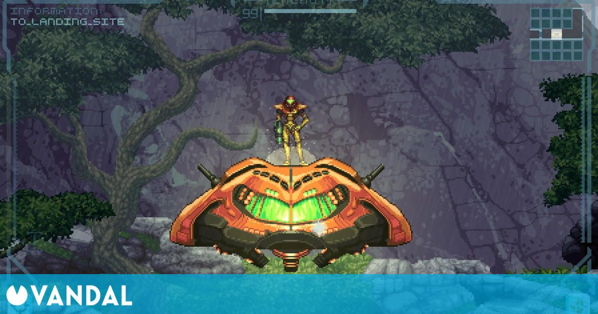 Nintendo podría haber cesado el desarrollo de Metroid Prime 2D, el juego creado por fans