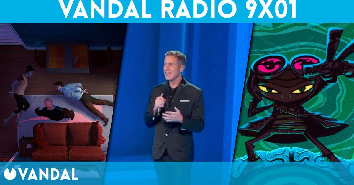 Vandal Radio 9×01 – Gamescom 2021, Psychonauts 2, Twelve Minutes, No More Heroes 3, Aliens