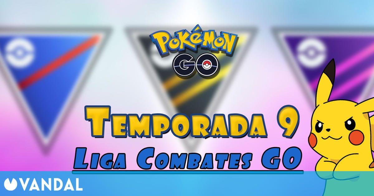 Pokémon GO: Temporada 9 de Liga Combates GO – Fechas, recompensas y detalles