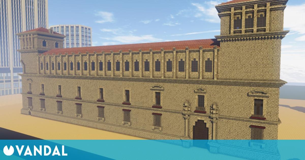 Construyen réplicas de monumentos en Minecraft para promover la España Vaciada
