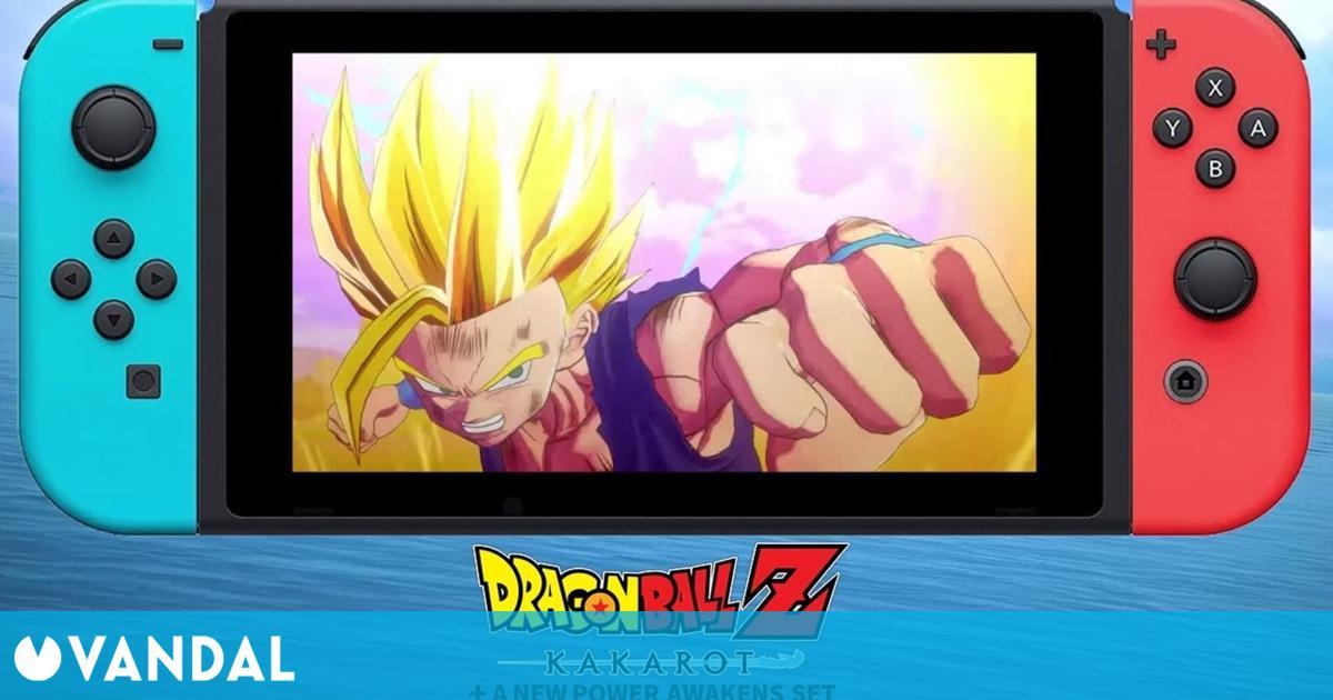 Dragon Ball Z: Kakarot + El Despertar de un nuevo poder estrena tráiler en Nintendo Switch