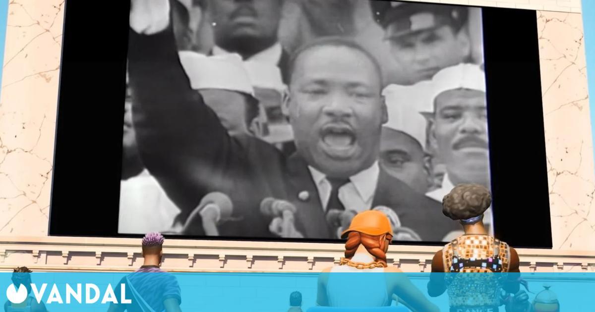Epic desactiva los bailes irrespetuosos de Fortnite durante el evento de Martin Luther King
