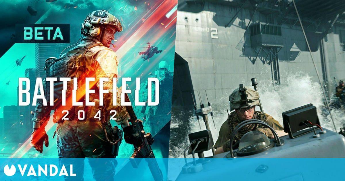 La beta abierta de Battlefield 2042 aparece en PlayStation Store para PS5 y PS4