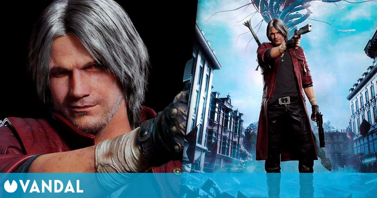 Celebra el aniversario de Devil May Cry con esta figura de más de 4000 euros