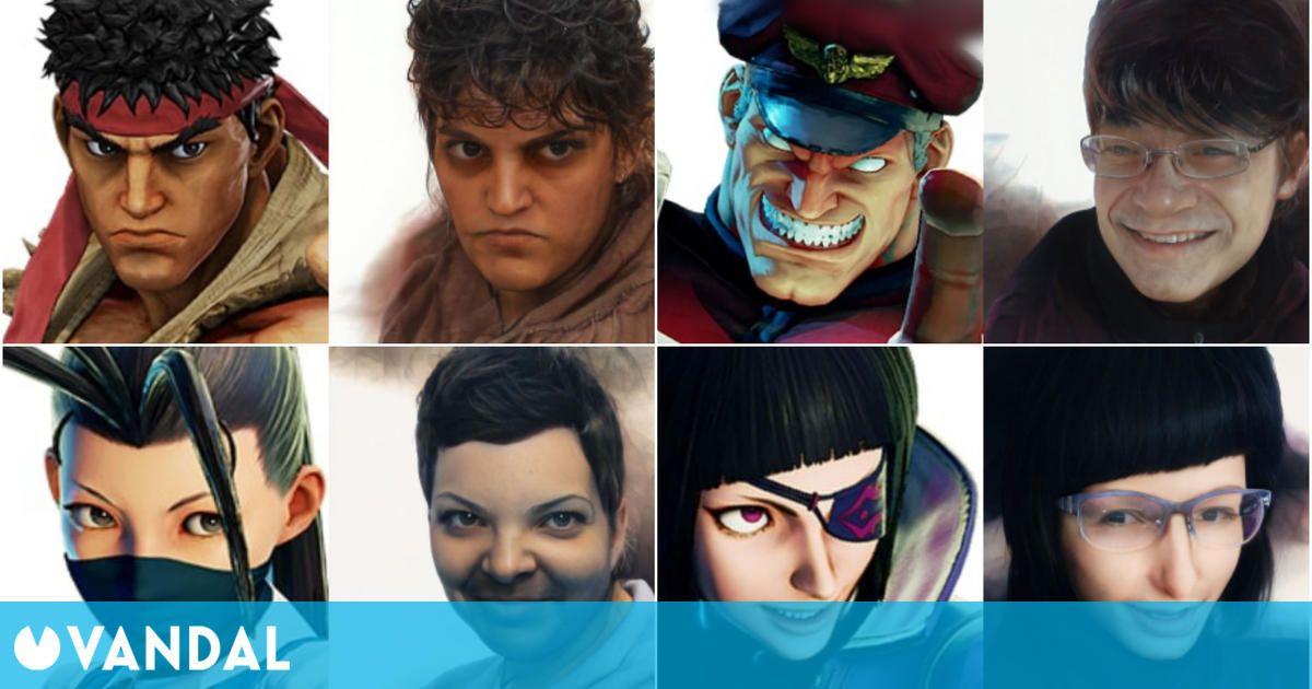 Convierten los personajes de Street Fighter en 'humanos reales' con aterrador resultado