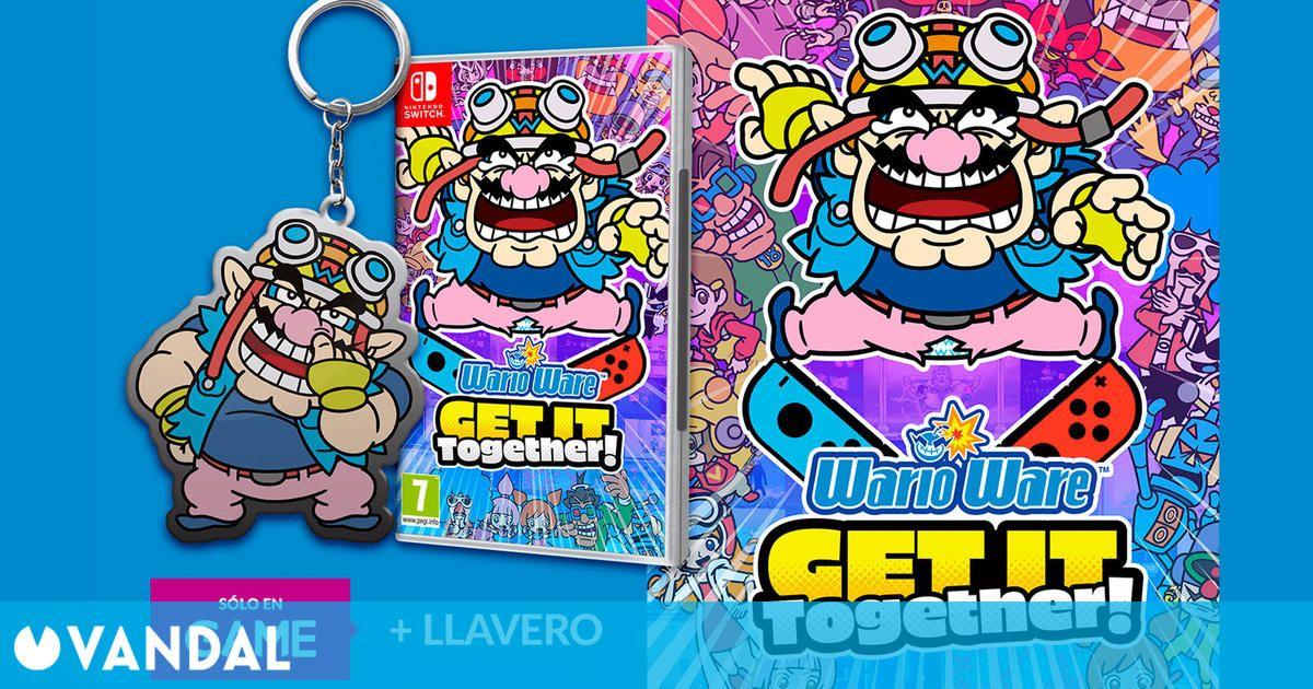Reserva WarioWare: Get It Together! en GAME y consigue un llavero exclusivo de regalo
